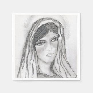 Servilleta Desechable Griterío de Maria