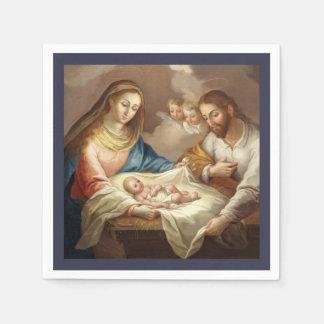 Servilleta Desechable La Natividad