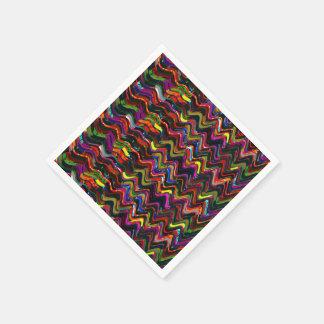 Servilleta Desechable La plantilla de acrílico de la textura del color