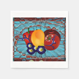 Servilleta Desechable Legumbres de frutas