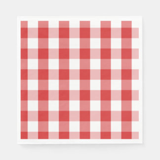 Servilleta Desechable Tablero Servilleta-Rojo de papel