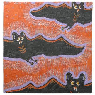 Servilleta extravagantemente del paño de Halloween