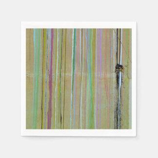 Servilletas coloridas de la pared servilletas desechables