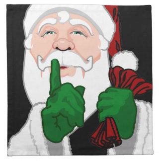 Servilletas de Papá Noel de las servilletas de