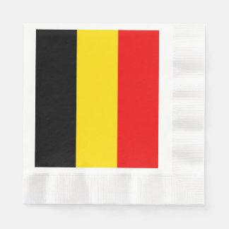 Servilletas De Papel Bandera de Bélgica