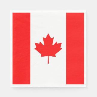 Servilletas De Papel Bandera de Canadá