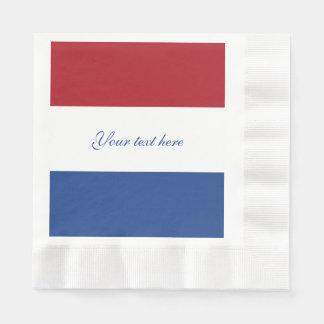 Servilletas De Papel Bandera de Países Bajos