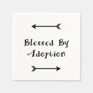 Servilletas De Papel Bendecido por la adopción - acogida
