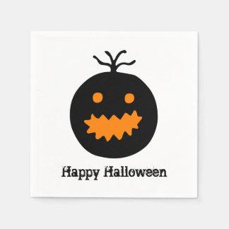 Servilletas De Papel Calabaza linda de Halloween