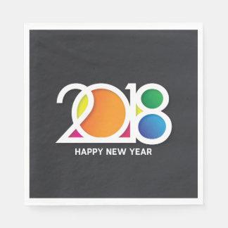 Servilletas De Papel Celebración del fiesta del Año Nuevo del arte