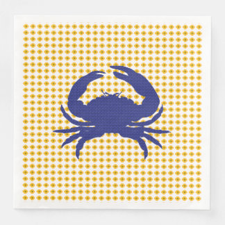Servilletas De Papel Crab-Mod_Navy-Gold-Floral-NAPKIN-MULTI-CHOICE
