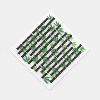 Servilletas de papel de bambú