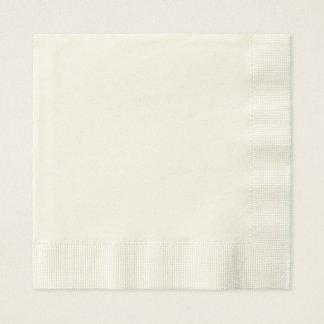 Servilletas de papel de encargo del alumerzo
