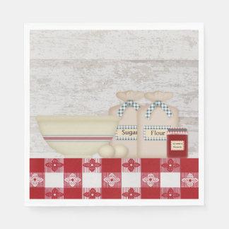 Servilletas de papel de la cocina de la abuela