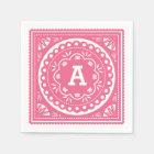 Servilletas de papel de Papel Picado - rosa