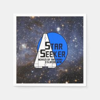 Servilletas de papel del espacio -