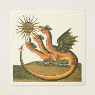 Servilletas De Papel Dragones de Clavis Artis