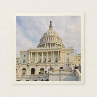 Servilletas De Papel Edificio de Capitol Hill en Washington DC