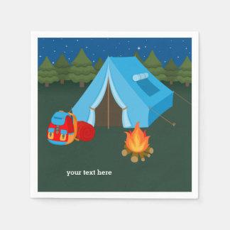 Servilletas De Papel El acampar