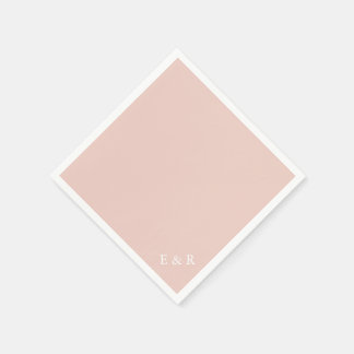Servilletas De Papel El diseñador 2017 de la primavera colorea pálido -