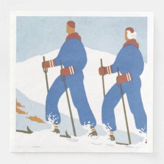 Servilletas De Papel Esquí SUPERIOR