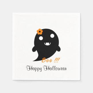 Servilletas De Papel Fantasma lindo de Halloween