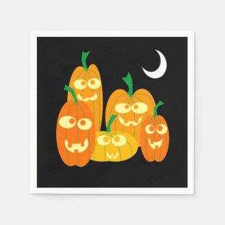 Servilletas De Papel Fiesta lindo de Halloween del dibujo animado de