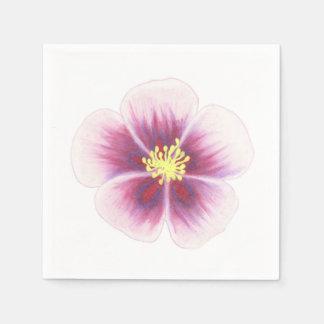 Servilletas De Papel Flor púrpura