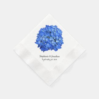 Servilletas de papel florales de encargo del
