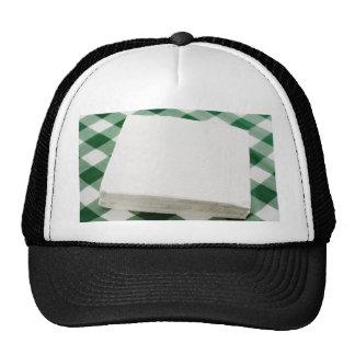 Servilletas de papel gorras de camionero