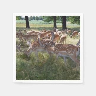 Servilletas De Papel Manada de ciervos