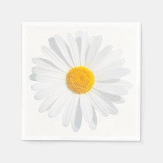 Servilletas De Papel margarita blanca