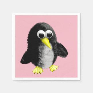 Servilletas De Papel Mi amigo el pingüino