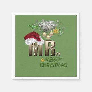 Servilletas De Papel Navidad de MR.First