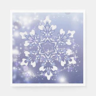 Servilletas de papel Nevado del alumerzo mágico