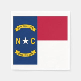 Servilletas de papel patrióticas con la bandera de