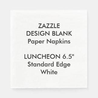 Servilletas de papel personalizadas del alumerzo