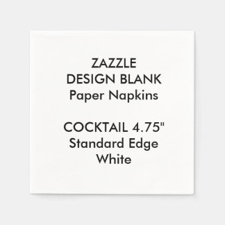 Servilletas de papel personalizadas del pequeño