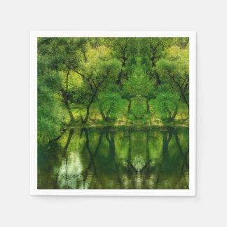 Servilletas De Papel Servilleta de papel de Green River de las