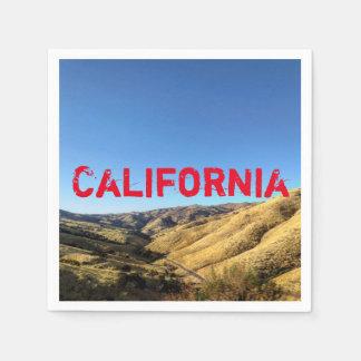 Servilletas De Papel Servilletas de California