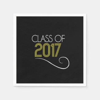 Servilletas De Papel Servilletas del cóctel de la graduación - 2017