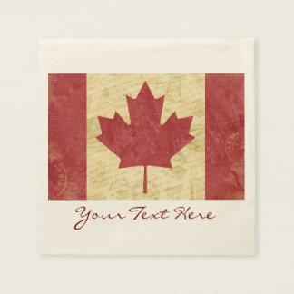 Servilletas De Papel Servilletas del fiesta de la bandera de Canadá