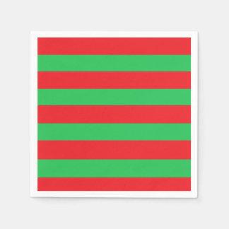 Servilletas De Papel Servilletas del Libro Verde rojo y