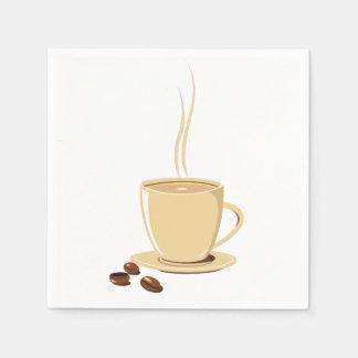 Servilletas De Papel Taza de café