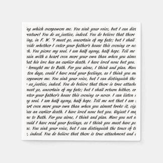 Servilletas De Papel Texto de la persuasión