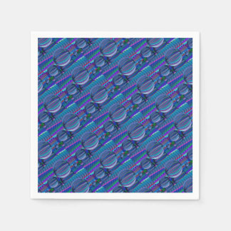 Servilletas De Papel Tres bolas de cristal en color