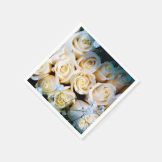 Servilletas del boda servilleta de papel