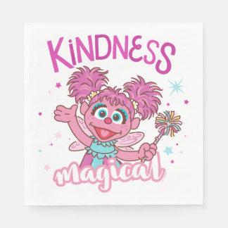 Servilletas Desechables Abby Cadabby - la amabilidad es mágica