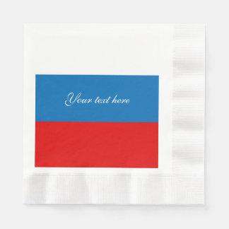 Servilletas Desechables Bandera de Rusia
