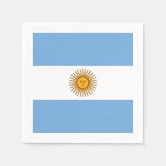 Servilletas Desechables Bandera: La Argentina